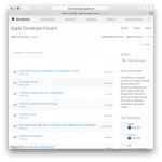 AppleDeveloperForums