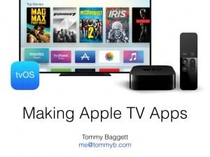 Making Apps for the Apple TV