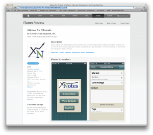 XNotes in the App Store