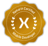 Xamarin Ceritified Mobile Developer Badge
